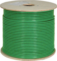 Green Shielded CAT6 Plenum