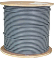 Gray Shielded CAT6 Plenum