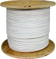 White Shielded CAT6 Plenum