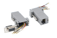 Networking RJ45 (8P8C) To DB9 Female Adapter