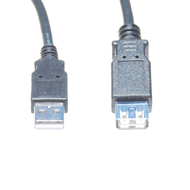 10 Foot USB 2.0 Cable, A Male To A Female