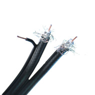 500 Feet RG6 Dual W/ Ground Coaxial Cable