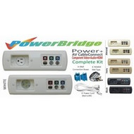 PowerBridge Total Solution Power + AV CableConnect Kit With 6 Foot NM-B: Component Video + Audio + HDMI