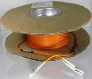 Overstock 100 Meter Fiber OM2 Multimode Duplex, LC/LC, Plenum (Spooled)