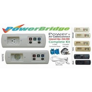 PowerBridge Total Solution Power + AV CableConnect Kit With 6 Foot NM-B: Component Video + Dual HDMI