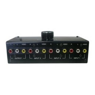 3-Input Composite Video, And Analog Left And Right Audio Switcher