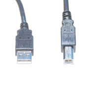 6 Foot USB 2.0 Cable, A Male To B Male (May Be Black or Gray)