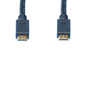6.5 Foot, 2 Meter Mini To Mini HDMI C To C HDMI Audio/Video Cable