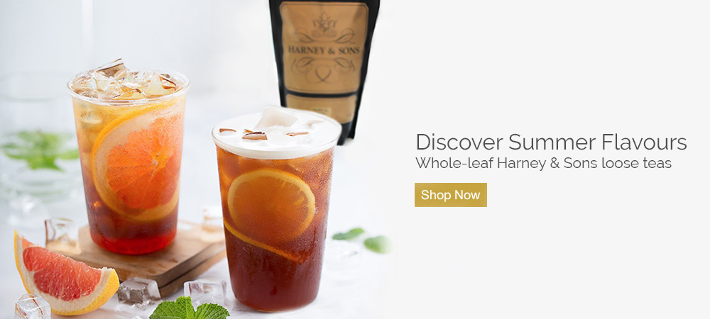 Discover summer flavours - whole-leaf Harney & Sons loose tea