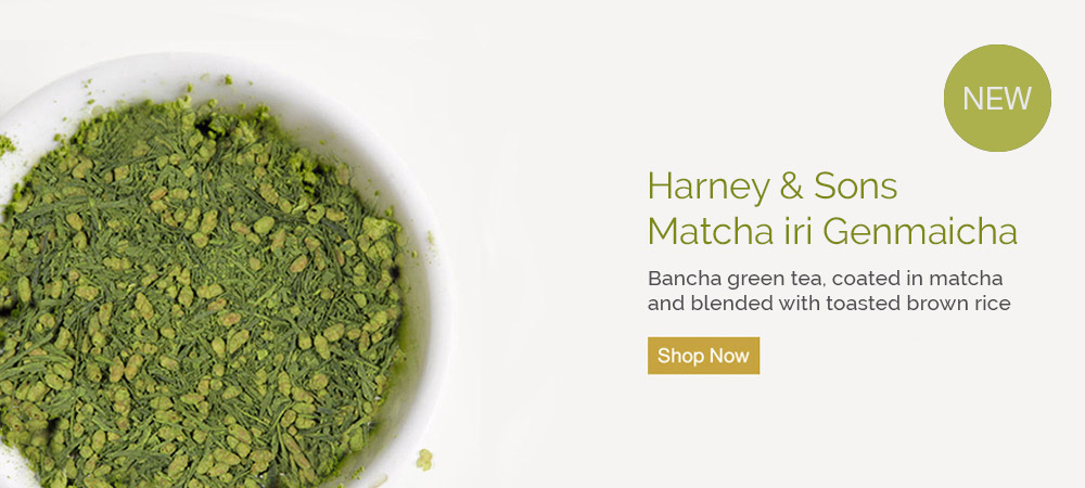 Shop Matcha iri Genmaicha - Bancha green tea, coated in matcha and blended with toasted brown rice.