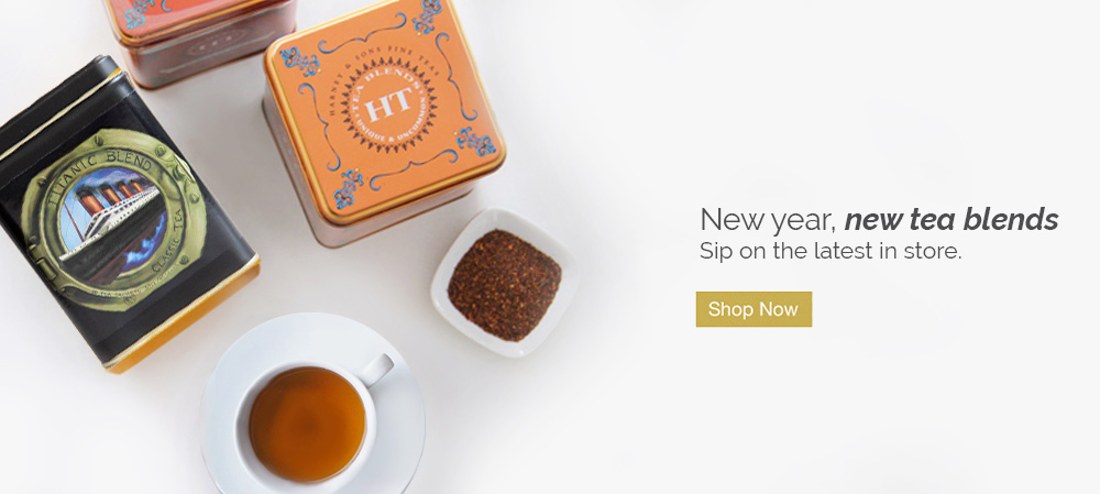 New year, new tea blends. Sip on the latest in store.
