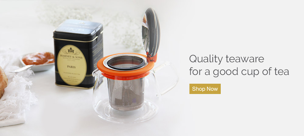 Shop quality teawate for a good cup of tea.