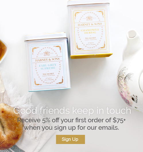 Good friends keep in touch. Receive 5% off your first order of $75+ when you sign up to hear from us.