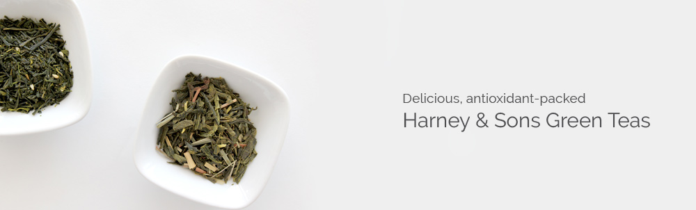 Harney & Sons Favoured Green Teas