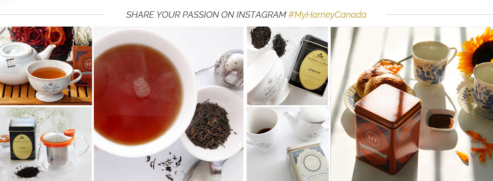 Share your tea passion with #MyHarneyCanada