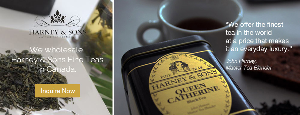 We wholesale Harney & Sons Fine Teas in Canada. Inquire Now.