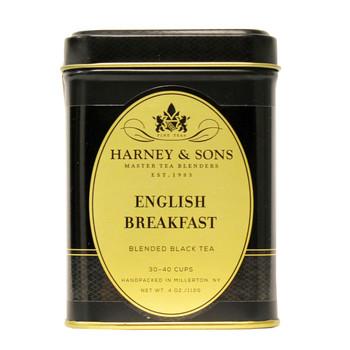Harney & Sons English Breakfast tea with 100% Keemun.
