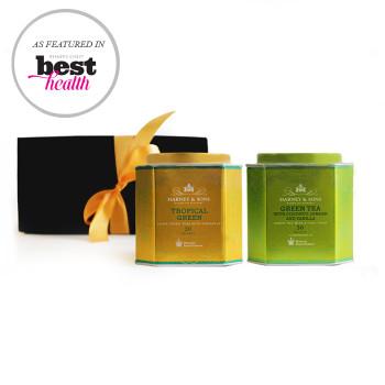 Harney & Sons Royal Green Teas Gift Set