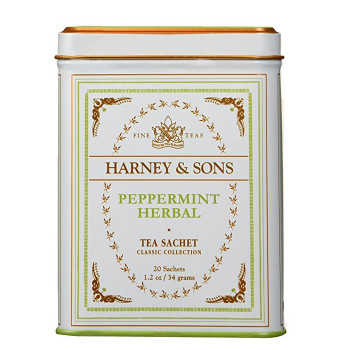 Harney & Sons Peppermint Herbal Classic 20 Sachet Tin