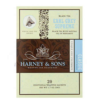 Harney & Sons Earl Grey Supreme (20 Wrapped Sachets)