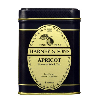 Harney & Sons Apricot  Black Loose Tea 4 oz