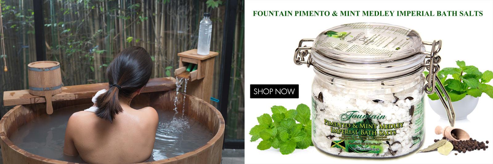 Fountain Pimento & Mint Medley Bath Salts