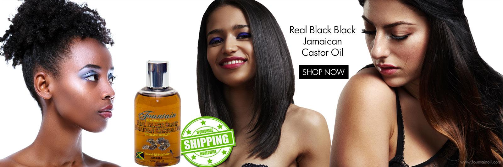Real Black Black Castor Oil