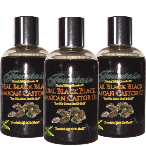Fountain Xtra Black Jamaican Black Castor Oil Fountain