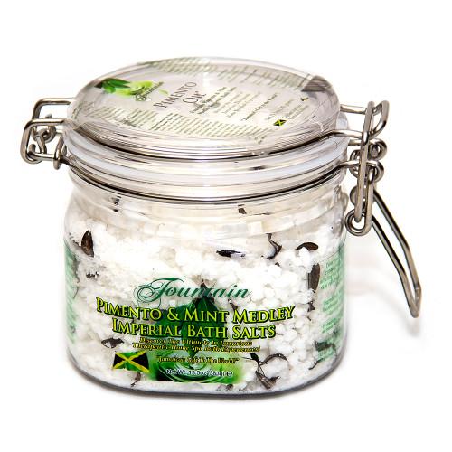 Fountain Pimento and Mint Medley Imperial Bath Salts 13.5 Oz