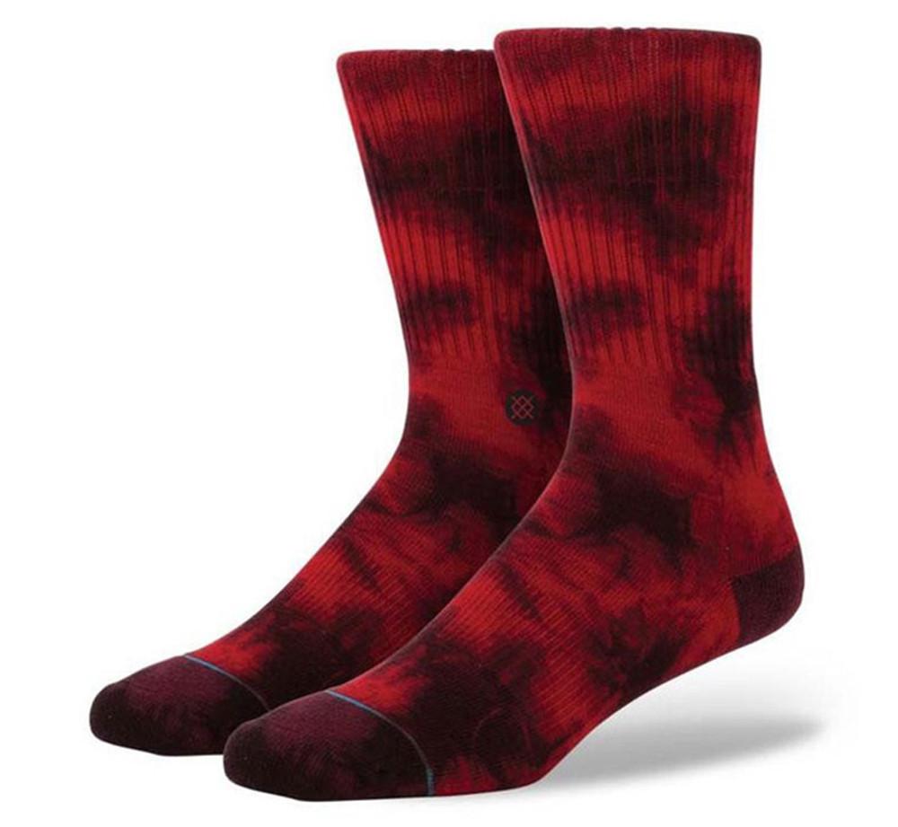 Stance Athletic Burnout Wine Socks