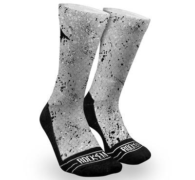 Grey Splatter Fractal