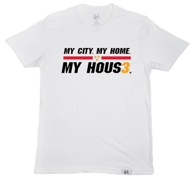 MY CITY. MY HOME. MY HOUS3. - White