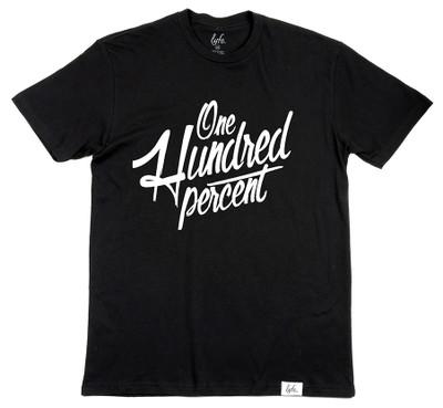 One Hundred Percent - Black/White