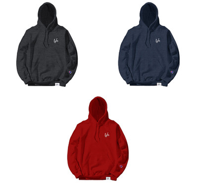 LYFE SCRIPT EMBROIDERED HOODIES