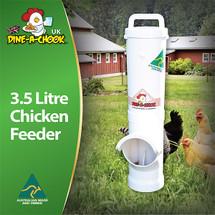Chicken Feeder | 3.5 Litre | Dine a Chook