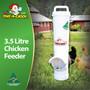 Waste Reducing Chicken Feeder