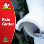 Weather proof Chicken Feeder with Rain and Gutter System