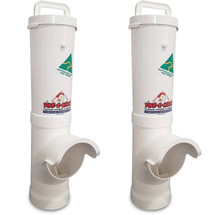 Waterproof. Rodent resistant Chicken feeders. Instantly reduce wasted feed.
