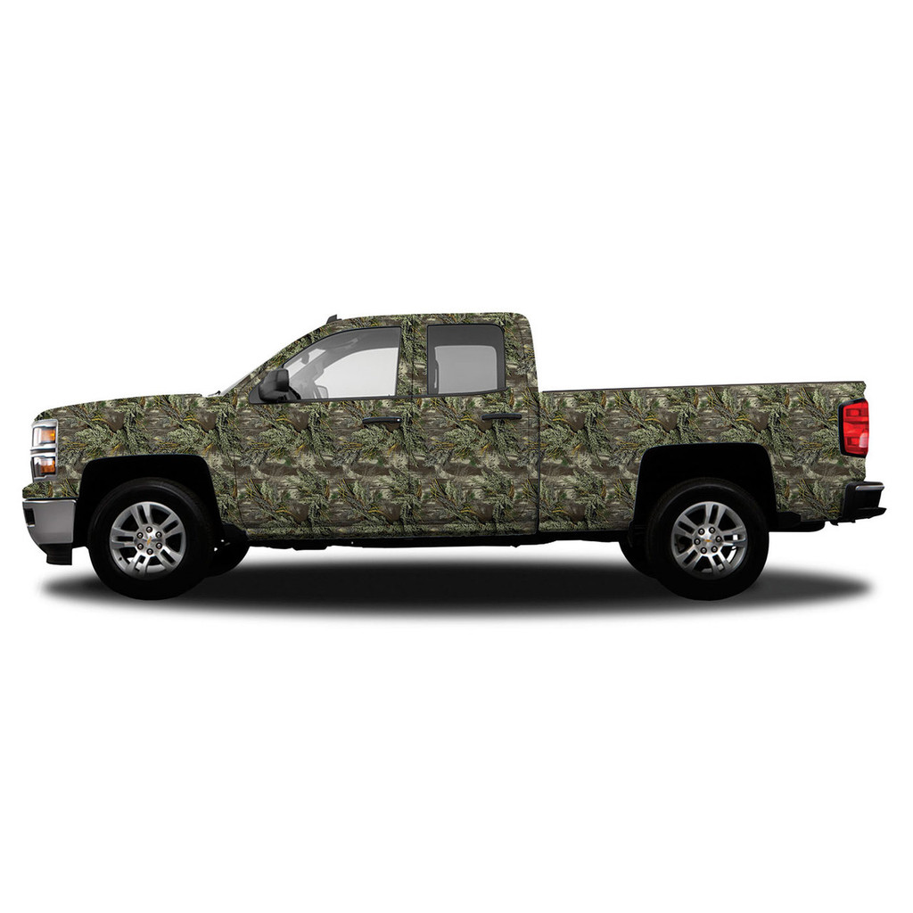 realtree camo accent vehicle wrap realtree camo vehicle kits. Black Bedroom Furniture Sets. Home Design Ideas