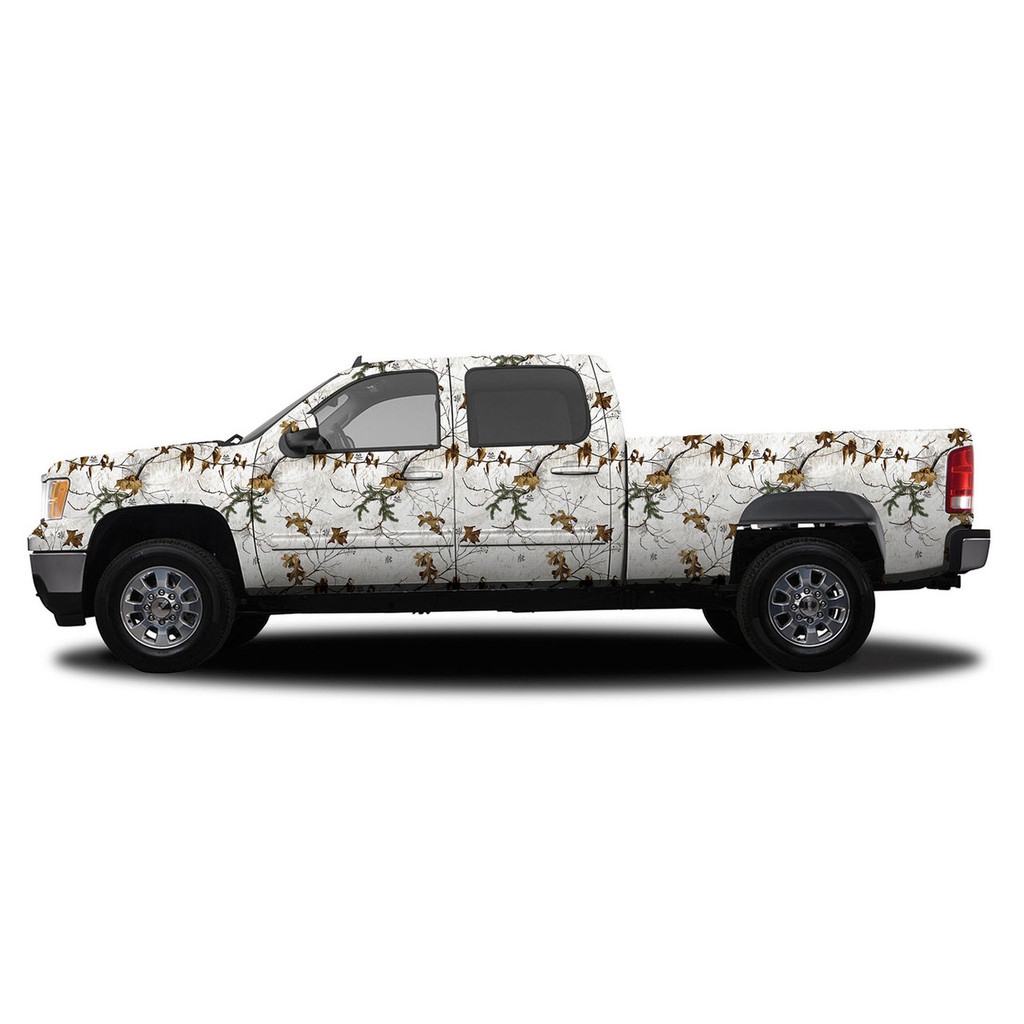Realtree Camo Accent Vehicle Wrap Free Shipping