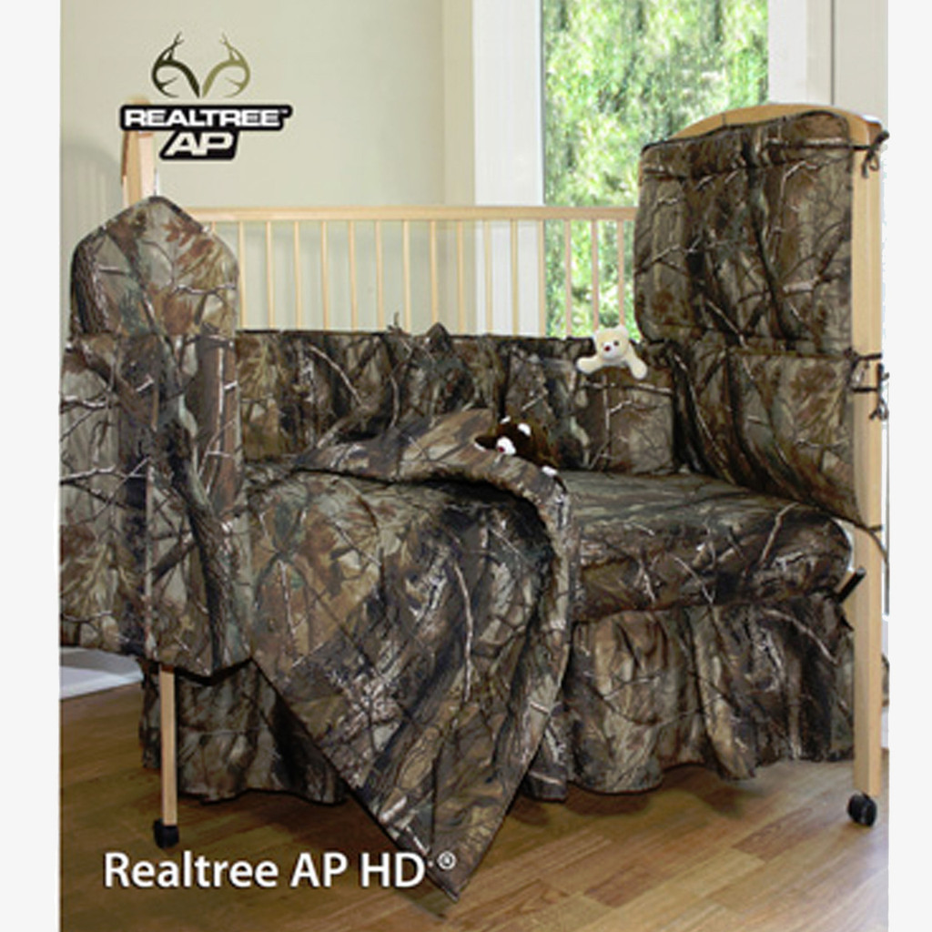 Camo Bedding For The Newest Hunters Realtree Crib Comforter Sets - Bedding comforter set realtree xtra