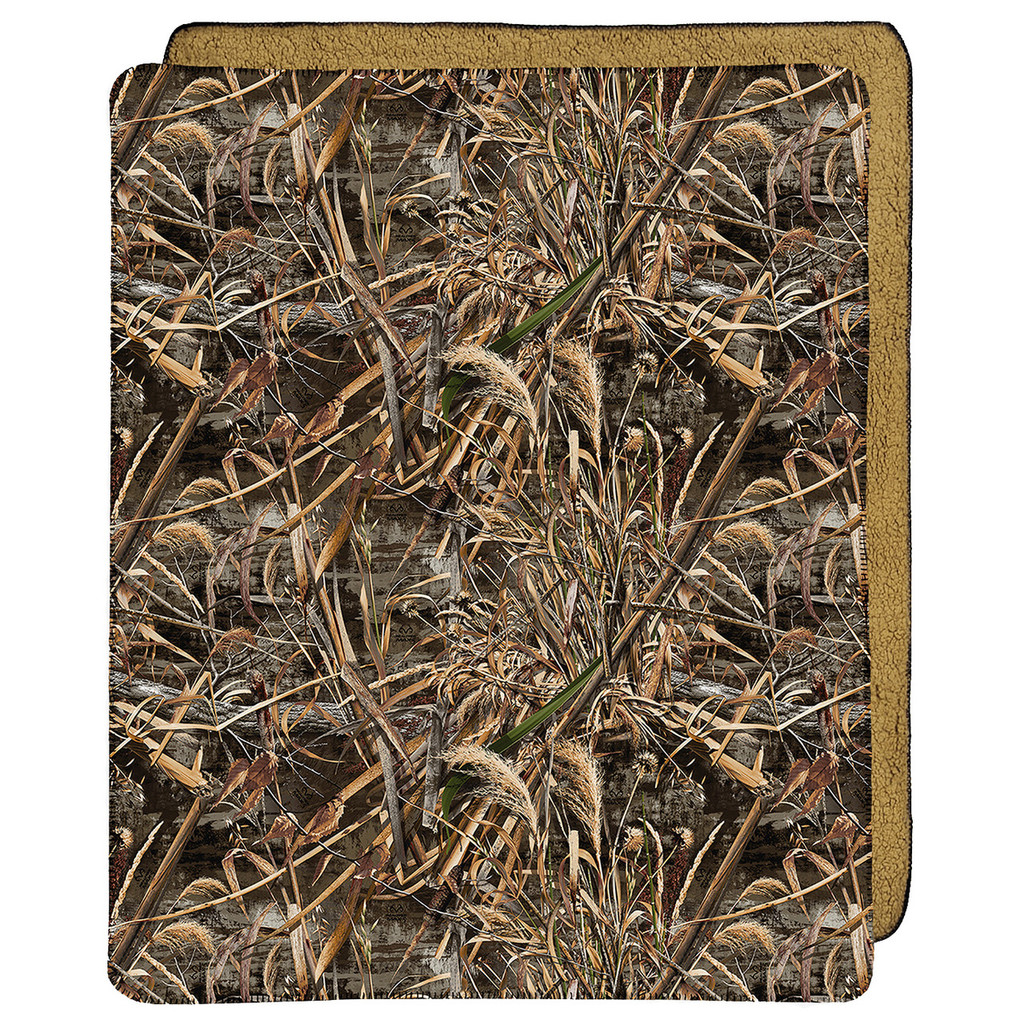 Realtree Max 5 Throw Blanket Snuggle Up With Camo