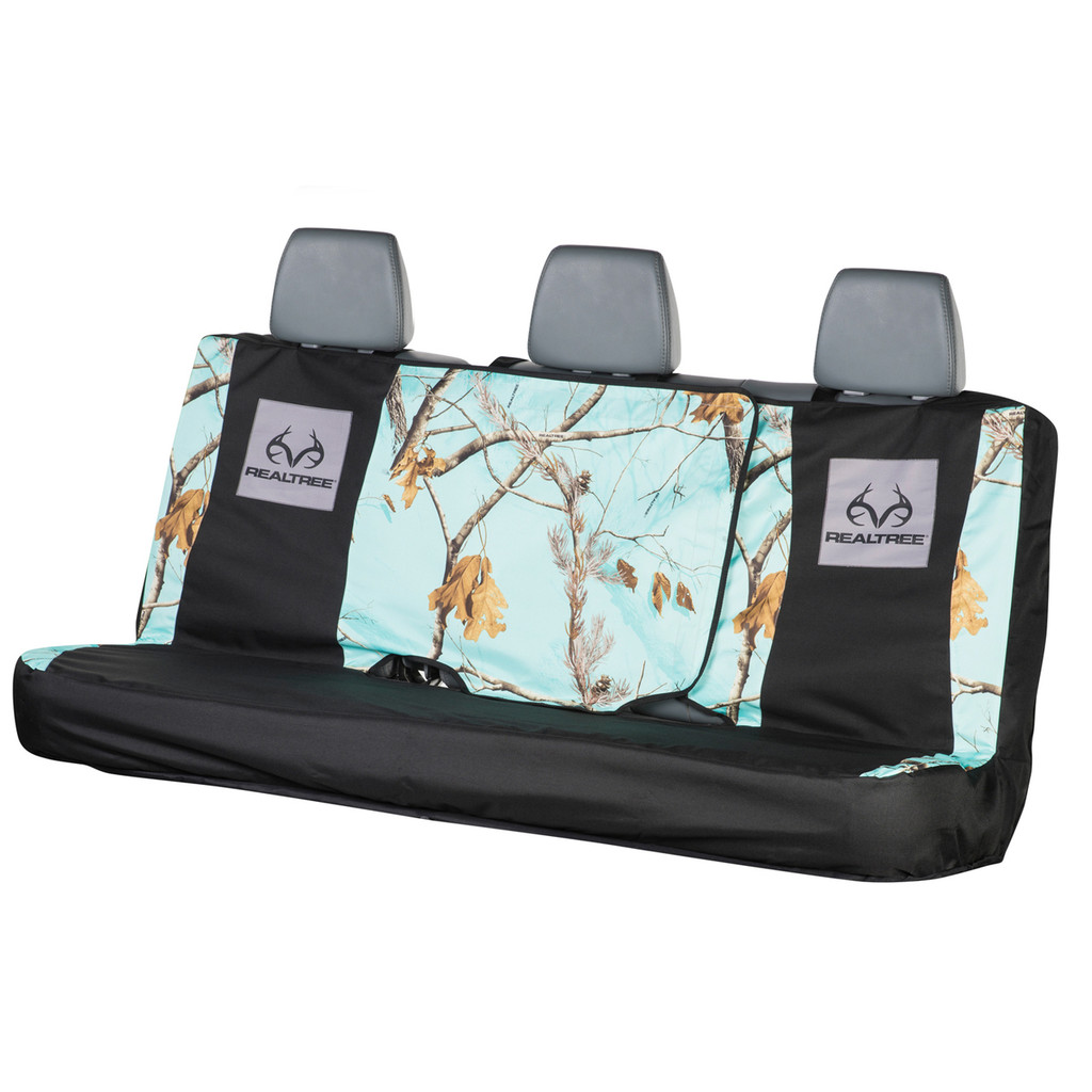 Realtree Mint Camo Switch Back Bench Seat Cover Realtree