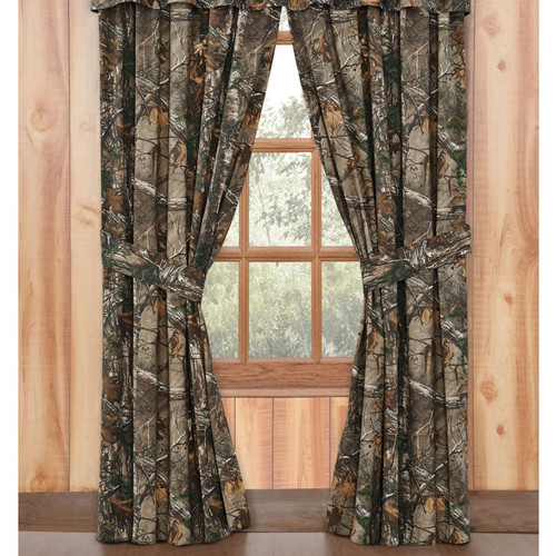 Realtree Camo Window Drapes