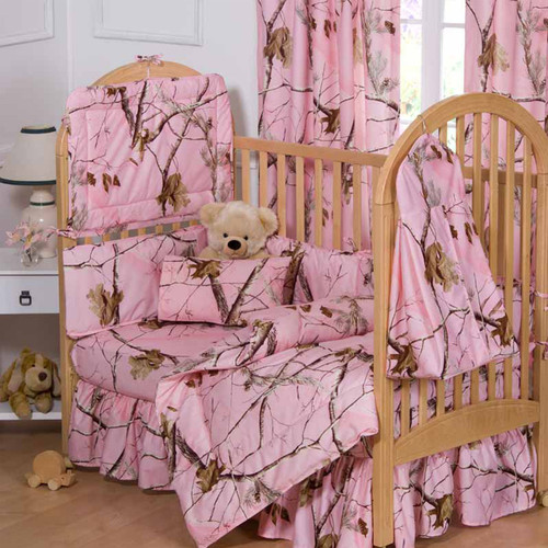 Realtree Complete Crib Bedding Set