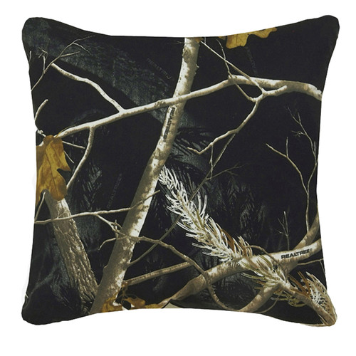 Realtree AP Black/Snow Reversable Pillow