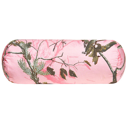 Realtree AP Pink Bolster Pillow