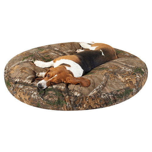 """Realtree Round Dog Beds 50"""""""