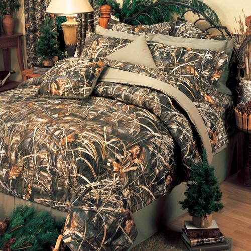 Realtree Max-4 Camo Comforter Set in Queen