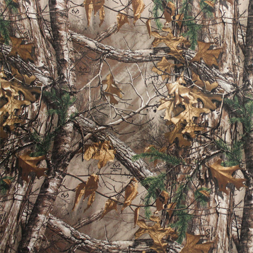 Realtree Xtra Camo Cotton Sheeting Fabric